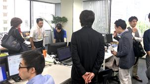 税理士事務所の視察ツアー