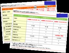 税理士事務所の料金表例